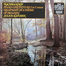 SPA 505 Rachmaninov Piano Concerto no. 2 Julius Katchen Decca Stereo NM/EX