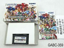 Complete Zoids Saga Game Boy Advance Japanese Import Boxed CIB GBA US Seller C