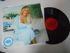 LP Pop Elke Sommer - Love In Any Language (12 Song) POLYDOR SONDERAUSGABE