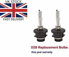 D2S 5000K HID XENON PAIR / Two REPLACEMENT BULB Lamp Bright White Light New DS2