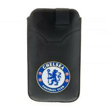 Chelsea Fc Phone Pouch Large Smart Mobile Football Case Club Crest Game Fan New