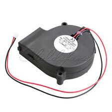 Brushless DC Blower Cooling Fan Sleeve-Bearing 7525S 12V 0.18A 75x33mm 75mm