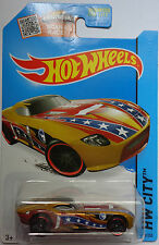 2014 Hot Wheels HW CITY Secret Treasure Hunts Fast Felion 69/250 (Gold)