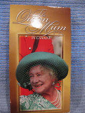 The Queen Mum in Canada (VHS) rare CBC video Canadian British royalty very good
