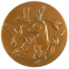 1985 France hunting duck bids boar hare OFFICE NATIONAL DE LA CHASSE By Baron