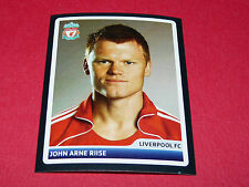 N°44 J.A. RIISE LIVERPOOL REDS UEFA PANINI FOOTBALL CHAMPIONS LEAGUE 2006 2007