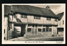 Bucks Buckinghamshire WEST WYCOMBE 15th Century Loft 1947 RP PPC pub by Roberts