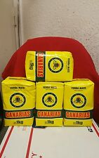Yerba Mate Canarias 4 pack of 1kg each.