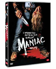 Maniac (1980) Joe Spinell, Caroline Munro DVD *NEW