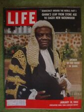 LIFE MAGAZINE JANUARY 18 1960 FIORELLO MUSICAL GHANA