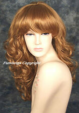 Glamorous Long Curly Wig In Strawberry Blonde From Fumi Wigs UK