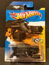2012 Hot Wheels #027 2012 New Models 27/50 - The Bat - Batman Dark Knight Rides