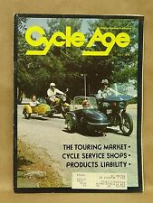 Vintage Cycle Age Magazine July 1976 Motorcycle Wetbike Daytona Windjammer MTA