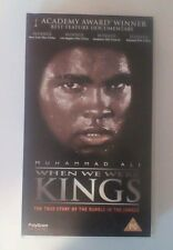 Muhammad Ali When We Were Kings Cassius Clay (VHS)