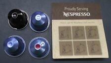 LOT of 4 Nespresso Cartridges Espresso Machine Mixed NEW