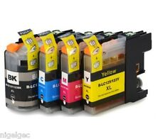 BROTHER SET OF 4 LC123 Compatible Ink Cartridge For DCP J552DW J752DW