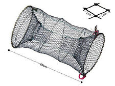 New Fishing Bait Trap Cast Dip Net Cage Crab Fish Crawdad Shrimp Minnow HU