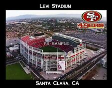 California - LEVI STADIUM - San Fran 49ers - Flexible Fridge Magnet