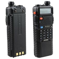 2 PCS BaoFeng UV-5R Dual Band UHF/VHF Radio Transceiver + 3800mah HIGH Battery