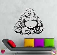 Wall Stickers Vinyl Decal Smiling Chinese God Good Luck Symbol Funny  (z2015)
