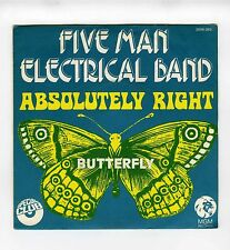 45 RPM SP FIVE MAN ELECTRICAL BAND ABSOLUTELY RIGHT