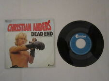 "Christian Anders - Dead End - Drugs And Love - Single - 7"" - 2116"