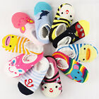 Non-slip Baby Toddler Low cut Sock Shoes Slippers Boys Girls