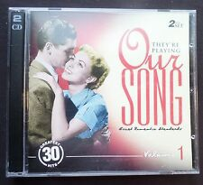 2 CD Set, 30 Tunes, They're Playing Our Song Vol 1 Great Romantic Standards VG++