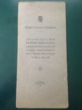 CONSIGLIO PROVINCIALE DI ALESSANDRIA, discorso di Luigi Borsarelli 1918