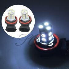 2x Super White 6000K H11 H8 H9 LED Car Headlight Fog DRL Driving Light Lamp Bulb