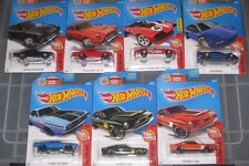 COLLECTOR  HOT WHEELS CARS LOT THEN AND NOW 68 SHELBY 71 DODGE 90 ACURA CORVETTE