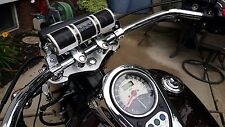 KICKSTART (SILVER) BLUETOOTH MOTORCYCLE  SPEAKER WITH LARGE BAR KIT