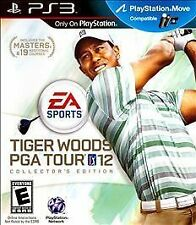 Tiger Woods PGA TOUR 12 COLLECTORS EDITION PS3! MOVE COMPATIBLE! GOLF, FAMILY