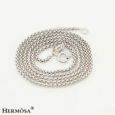 """Xmas Sale! 75% OFF Hermosa Real 925 Sterling Silver Well-paired Necklace 16"""""""