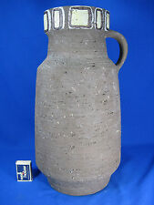 Beautiful handpainted 60´s design Krösselbach pottery jug vase / Keramik Vase