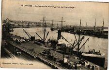 CPA  Nantes - Vue générale du Port prise de l'Hermitage    (242632)