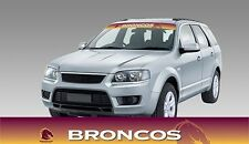 62585 BRISBANE BRONCOS COLOUR VISOR BLOCK OUT DECAL NRL CAR STICKERS ITAG