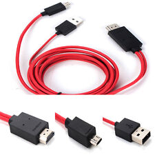 Micro USB MHL to HDMI TV AV Cable Adapter HDTV for Samsung Galaxy S3 4 Note 2 3