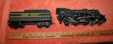 Vintage O Scale Metal Lionel Union Pacific 8102 Engine & Tender 8141T-10