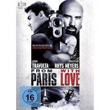 FROM PARIS WITH LOVE DVD JOHN TRAVOLTA ACTION NEU