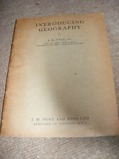 Introducing Geography by J.K. Dale PB 1952 edition illustrated