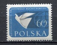 35670) POLAND 1959 MNH** World Peace Movement, 1v