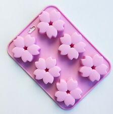 Silicone Cherry Blossoms Chocolate Mold Fondant Cake Candy DIY Baking Mold Tools