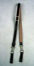WW2 German Elite Leather Cross Strap Black