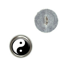 Yin and Yang - Chinese Symbol - Taoism - Craft Sewing Novelty Buttons Set of 4