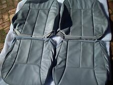 Mercedes Benz W210 chasis E class 1998-99 Front leather factory seat covers GREY