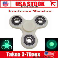 Tri Fidget Glowing Hand Spinner 3D Printed EDC Desk Focus Toy For Kids/Adults US