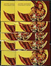 10x Europa cept libros infantiles ucrania 2010 marcas fascículo 1086-87 ** mnh