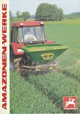 Amazone za x perfect presse prospectus 10/96 brochure 1996 catalogue