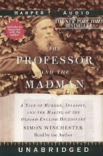 Simon Wnchester - Professor and the Madman - UNABRIDGED on 6 Tapes
